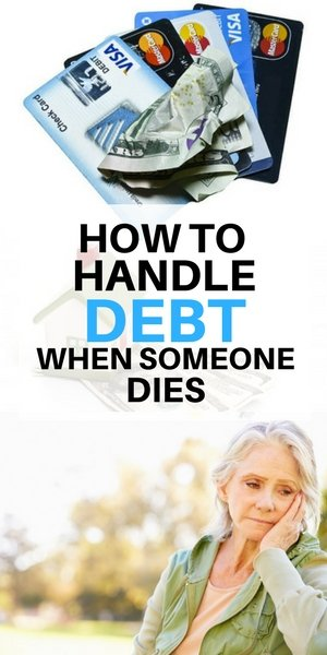 How to handle debt when someone on Long Island dies