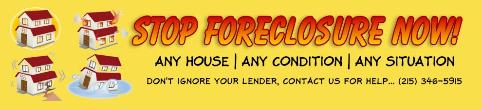 can you stop my foreclosure philadelphia pa