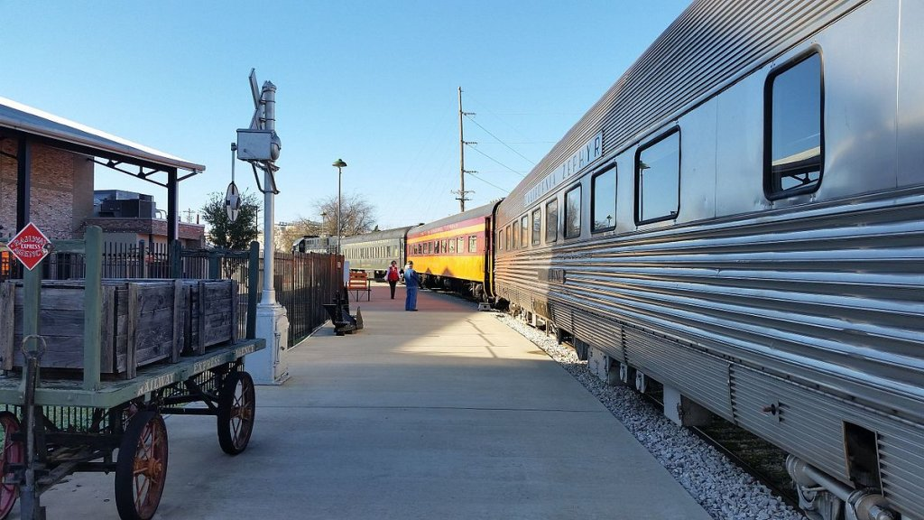 The train station at Cedar Park TX - on the sell your house fast Cedar Park page