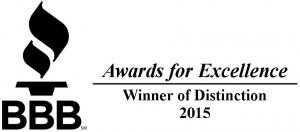 BBB Winner of Distinction 2015 for American Home Buyer