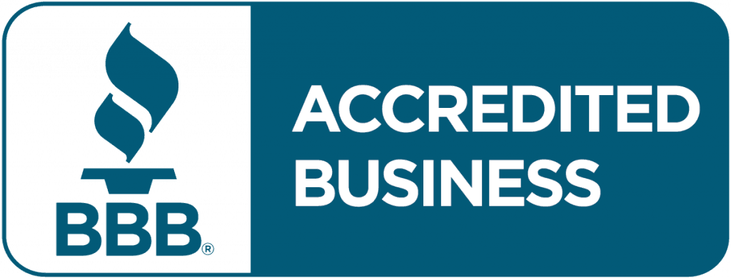 BBB Accredited - Trusted and Locally Owned