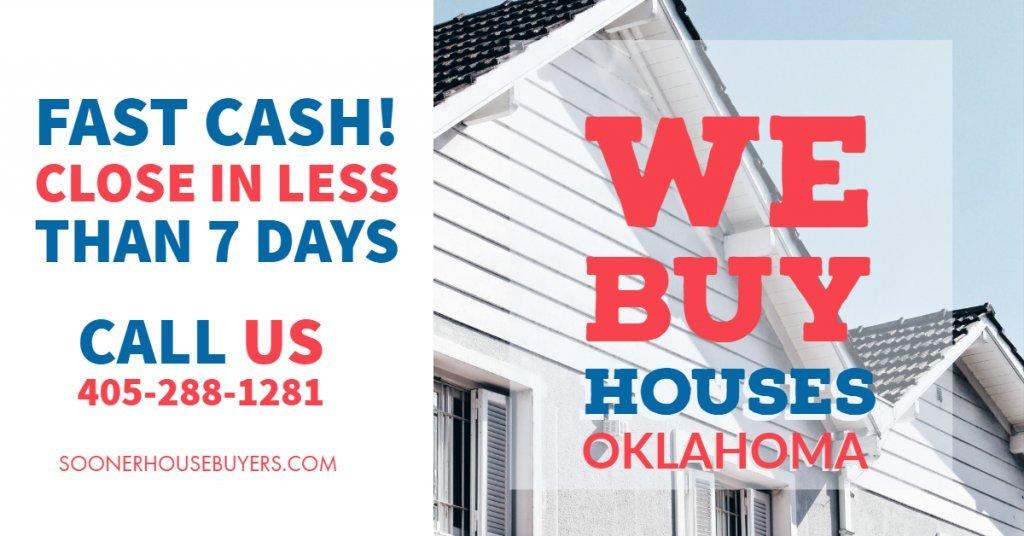 Cash House Buyers in Yukon - Sooner House Buyers