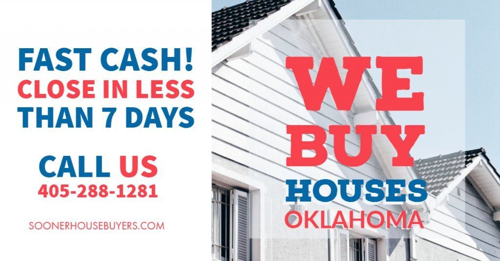 Cash House Buyers in Shawnee Oklahoma