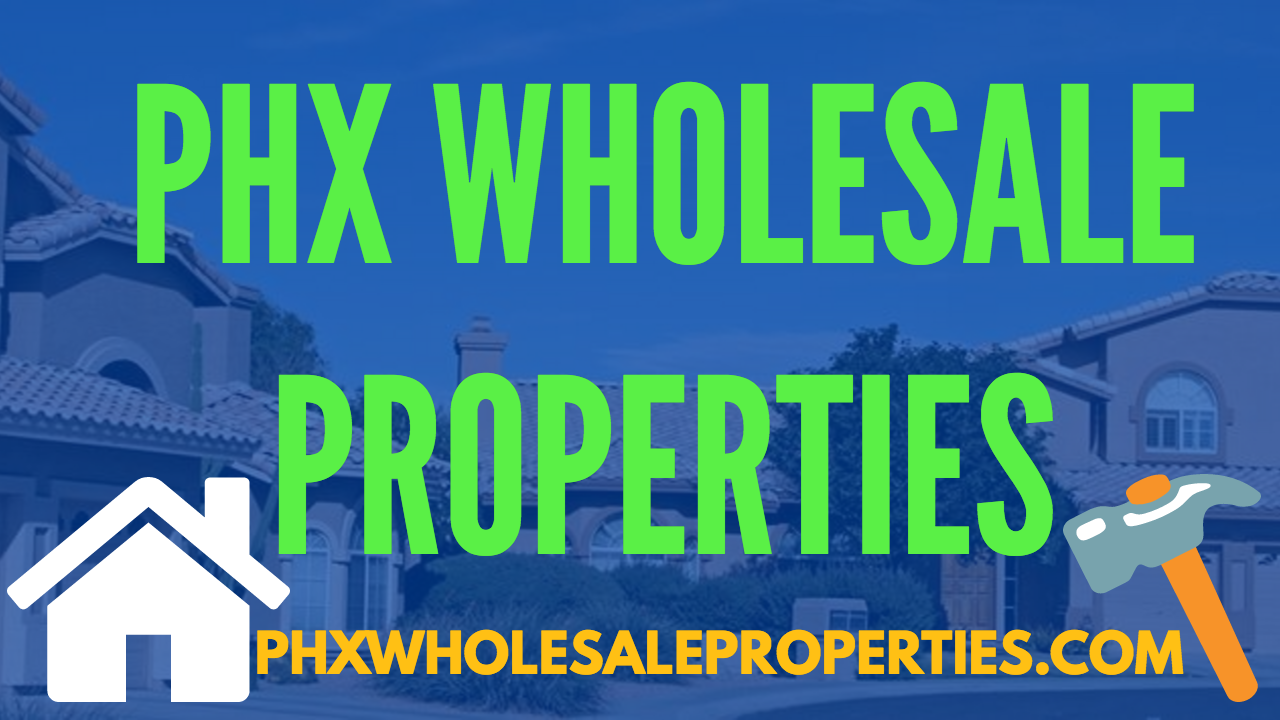 Phoenix Wholesale Properties | PHX Wholesale Homes | Wholesale Houses logo