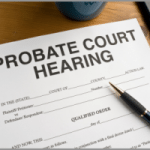 the probate process for a house in Houston TX