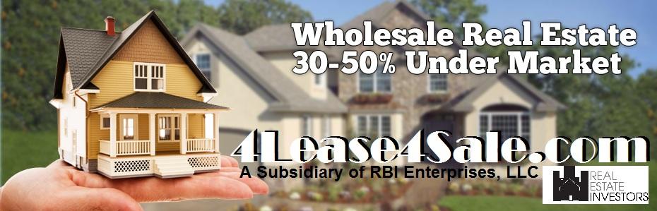 4lease4sale WHOLESALE AD