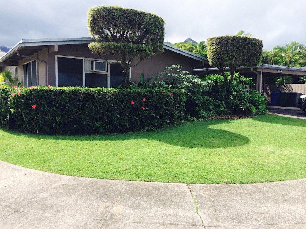 949 Kahili Street Kailua - Front View
