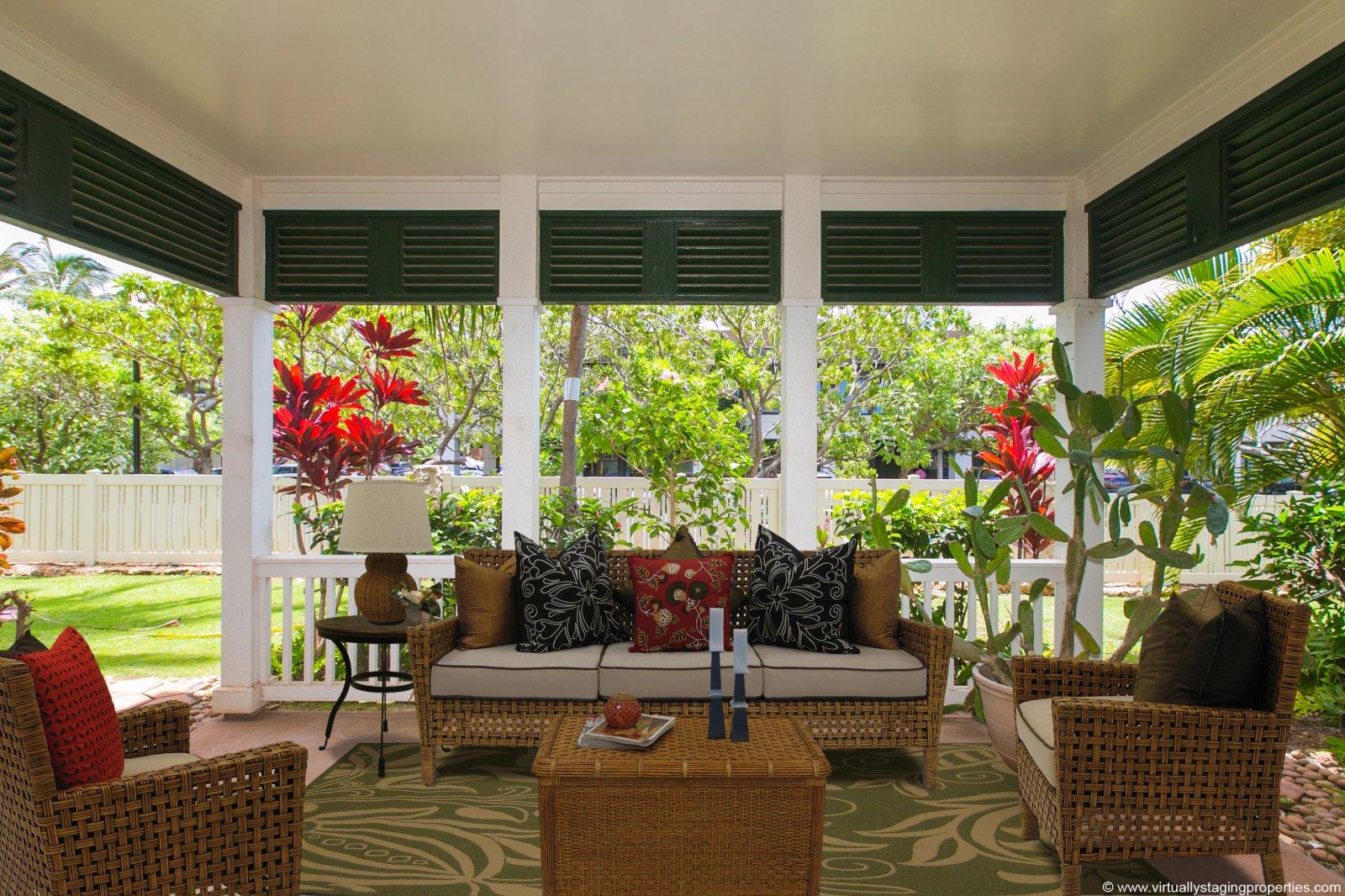 Ko Olina Coconut Plantation - balcony