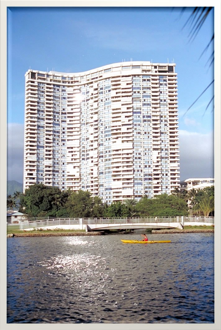 Marco Polo condo building in Honolulu