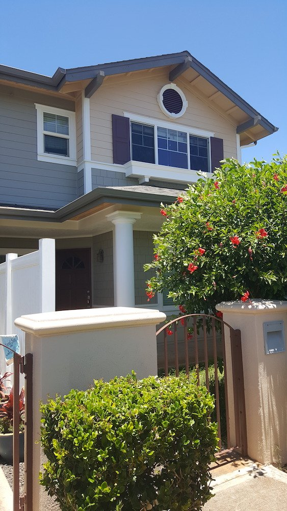 Spinnaker townhouse Hawaii - exterior