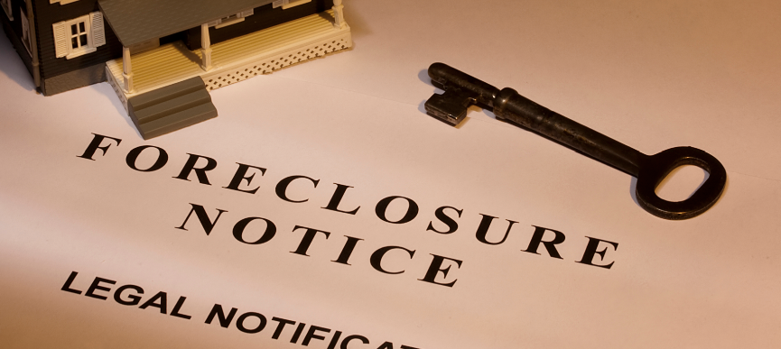 live in New York and get a foreclosure notice of default?