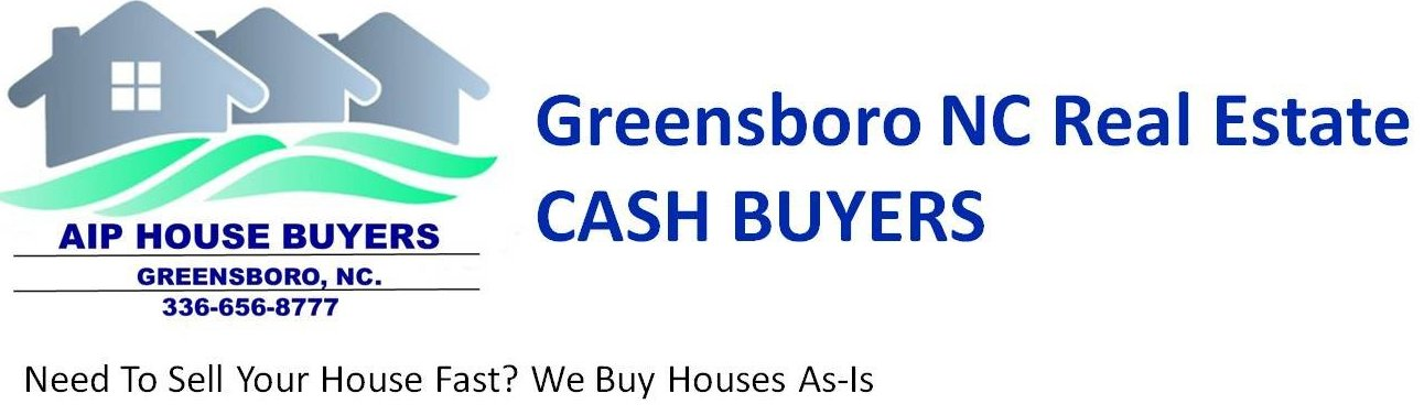 Greensboro NC  Real Estate CASH BUYERS logo