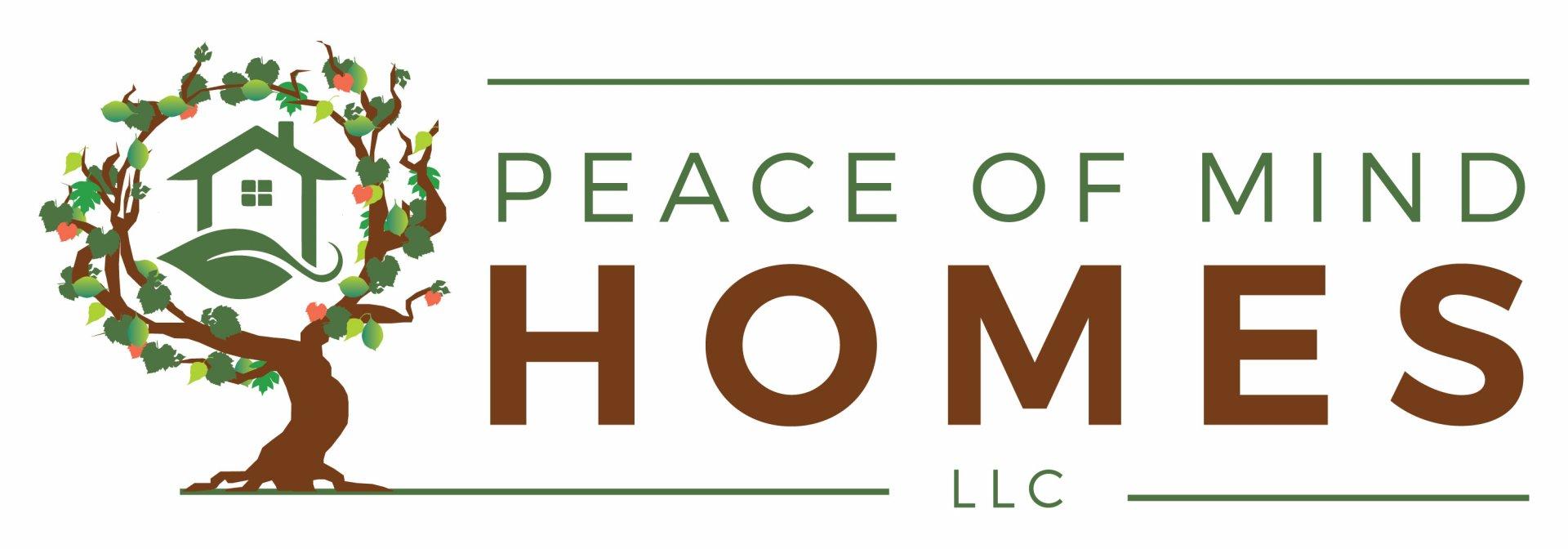 PEACE OF MIND HOMES, LLC logo