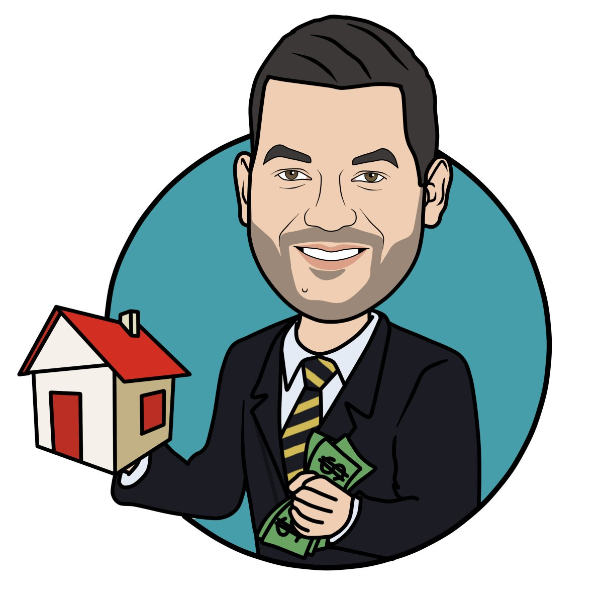 Ryan Buy My House! logo