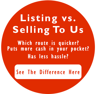 Listing vs Selling your house in Indianapolis.