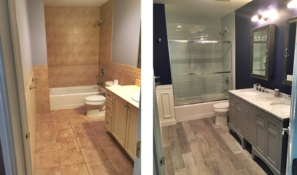 D I Y Series 1 Minor Bathroom Remodels On A Tight Budget In Las Vegas Buying Nevada Houses