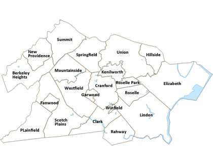 Image Result For Map Of Bergen County Nj With Towns
