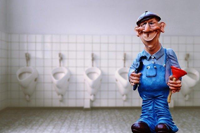 home repair tip unclogging a toilet