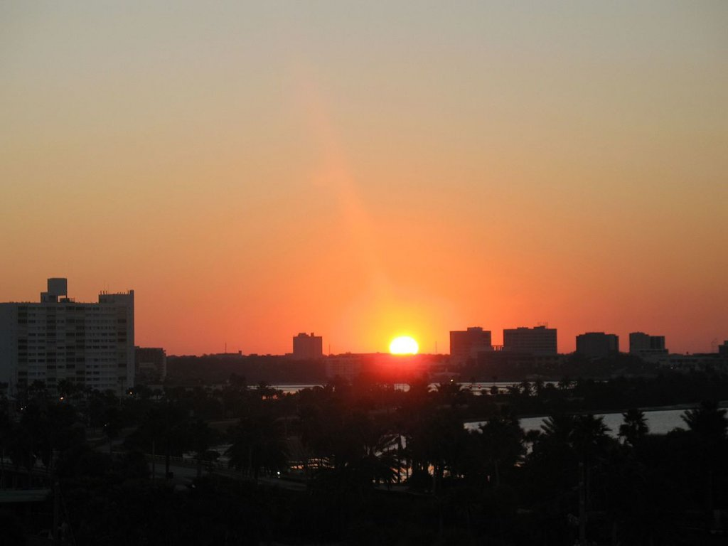 A sunset over Clearwater, on the Sell your house fast in Clearwater FL page