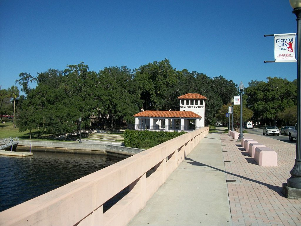 An overpass in New Port Richey on the sell your house fast in New Port Richey FL page