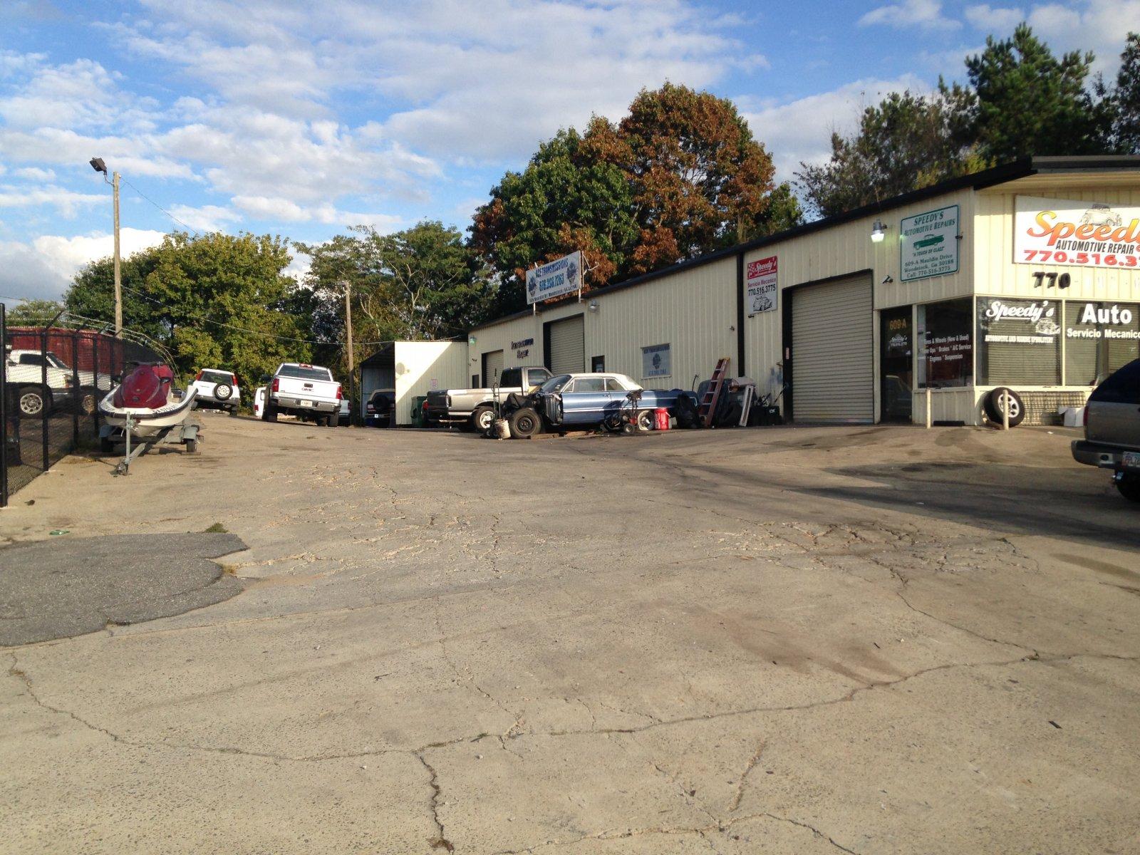 Auto Repair Shop for Rent Woodstock GA
