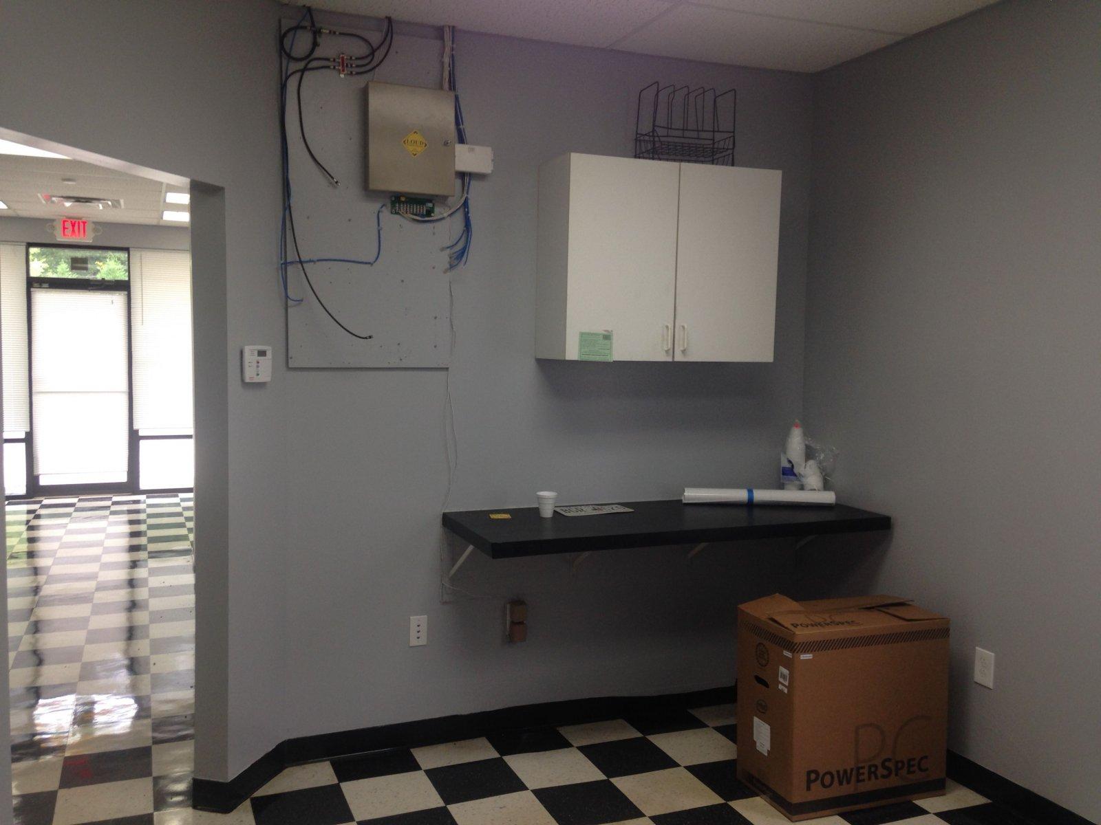 breakroom network room