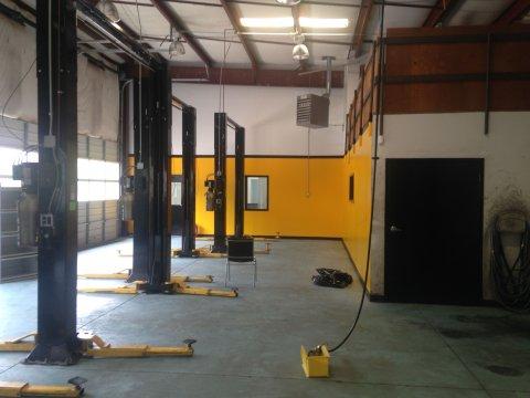 canton ga auto repair shop garage lifts