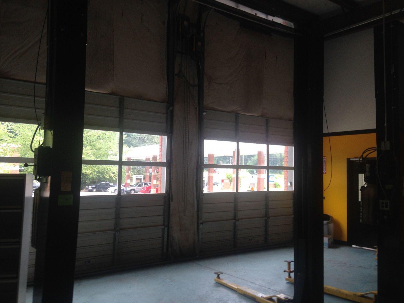 canton ga auto repair shop garage doors