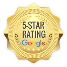 Google Five Star Rating