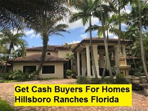 Get Cash Buyers For Homes Hillsboro Ranches Florida