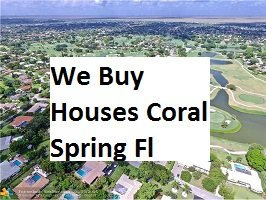 Cash For Coral Springs Houses - The Sell Fast Center
