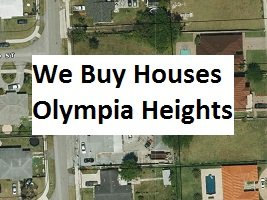 Cash For Olympia Heights Houses - The Sell Fast Center