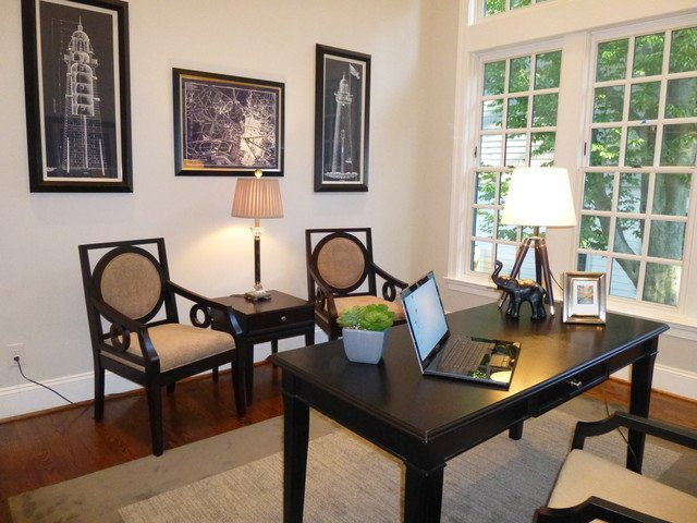 staging tips to sell your nky home - staged office