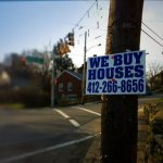 we buy houses sign - northern kentucky and cincinnati
