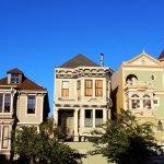 direct sale a house vs agent vs fsbo - row of homes blue sky