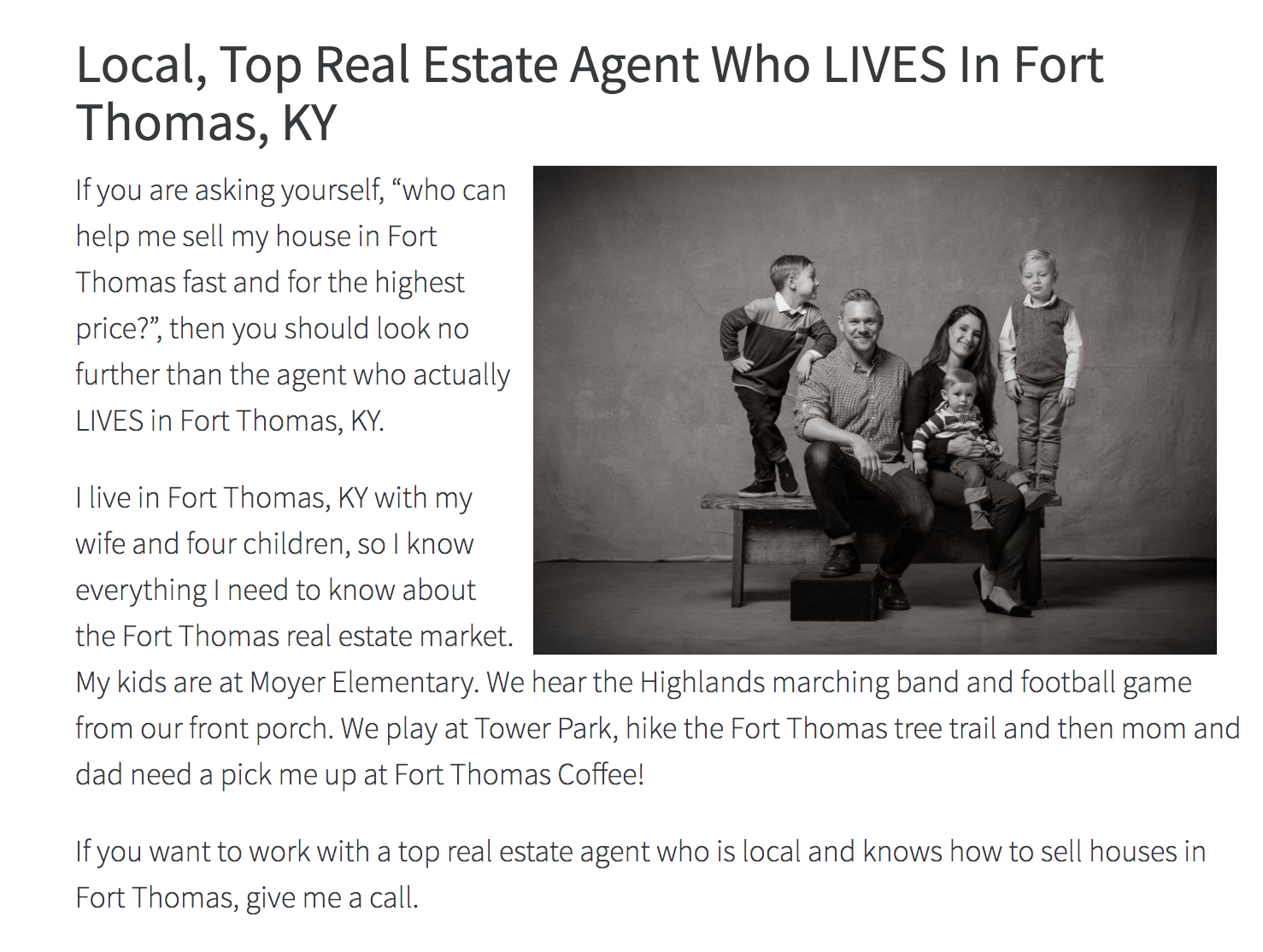 Fort thomas KY real estate agent - Team Sztanyo