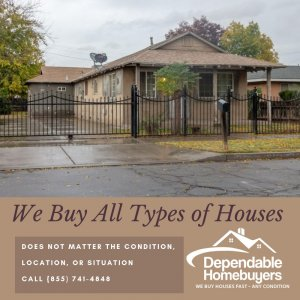 We Buy All Types of Houses