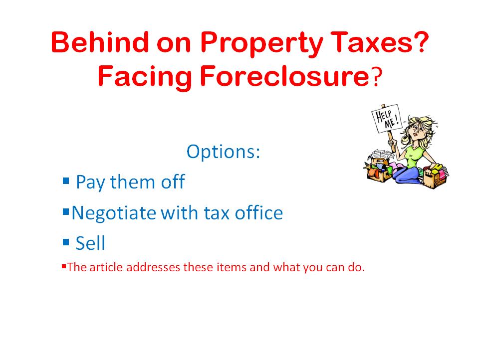 San Antonio Taxes Delinquent Property