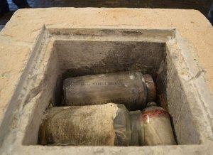 1815 Cornerstone Found in the Washington Monument in Baltimore