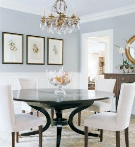 Pale gray blue dining rooms can add $1,926 to the sales price of your home