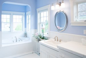 Periwinkle blue bathrooms sell for $5,440 more than average.