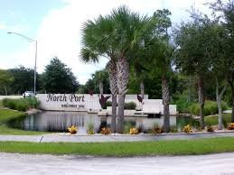 welcome to north port florida sign