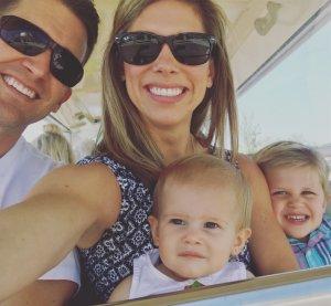 Brett With His Family