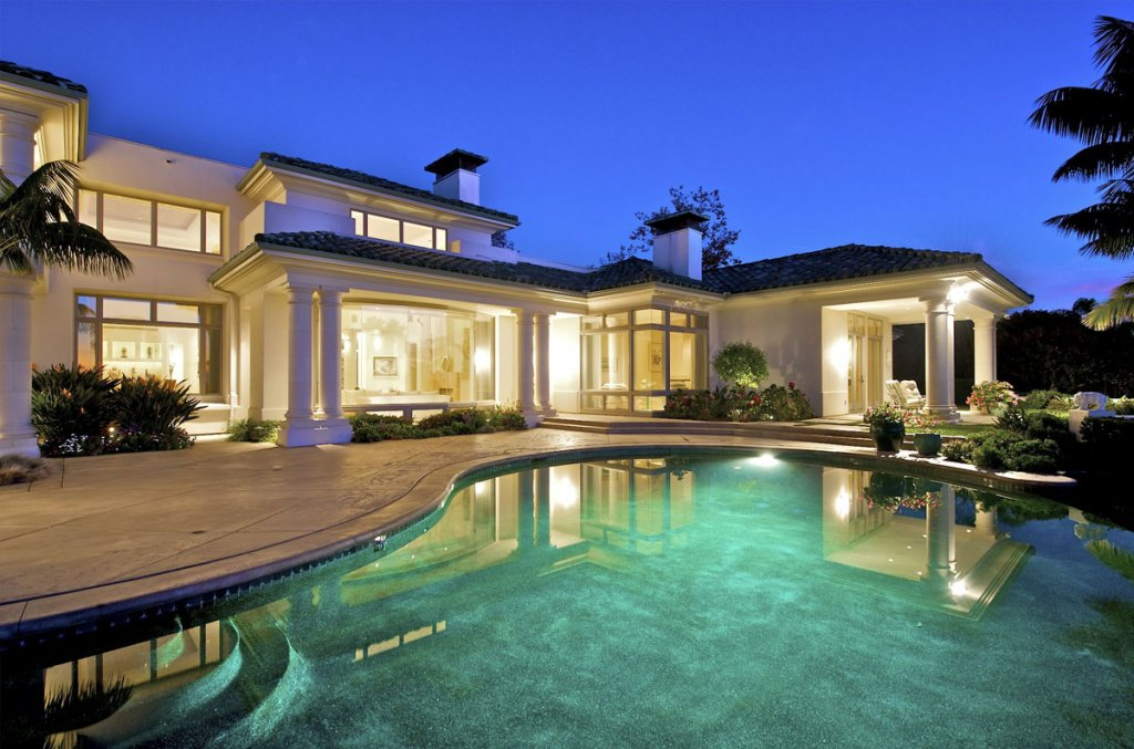 lovely pool in this santa barbara house