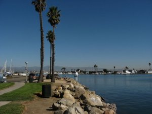 beautiful picture of some of the oxnard real estate located near the beach