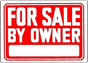 large for sale by owner sign