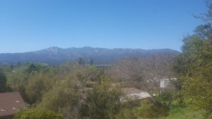 view over looking the valley from a house in ojai