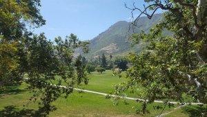 View of a golf course in Camarillo California