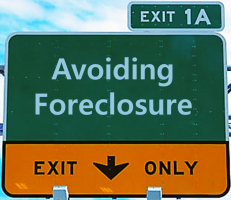 Heritage Foreclosure Highway Sign