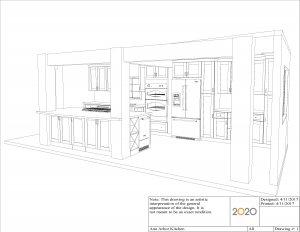 3602 Ann Arbor Kitchen Perspective